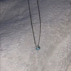givenchy blue stone necklace